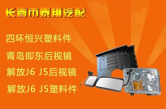 长春市解放J567奥威悍威配件挡泥板塑料件后视镜 -