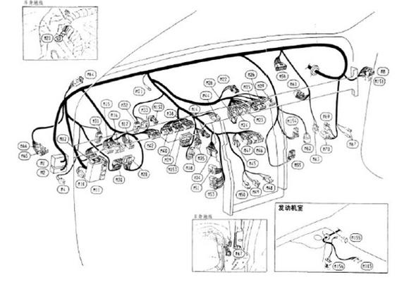汽车线束仪表简图 - 企业新闻 - 汽车线束仪表_解放j6
