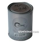 轲龙-206中细银-汽车油漆