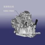 奇瑞QR513变速箱总成及配件