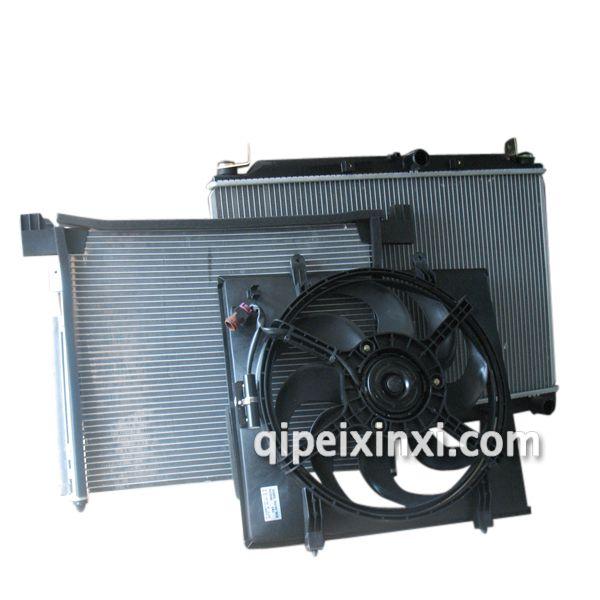 五菱宏光水箱冷凝器电子扇