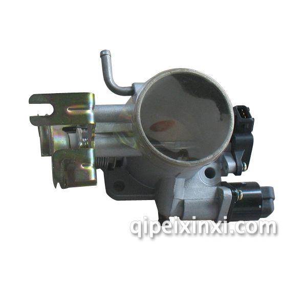 产品名称:金杯阁瑞斯4RB2发动机节气门 适用车型:金杯格瑞斯 节气门是用来控制空气进入引擎的一道可控阀门,进入进气管后和汽油混合,成为可燃混合气体,参与燃烧做功。四行程汽油机大致都这样子。 节气门是当今电喷车发动机系统最重要的部件,他的上部是空气滤清器,下部是发动 机缸体,是汽车发动机的咽喉。