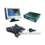 4探彩屏LCD液晶倒车雷达