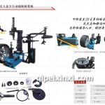氣動扒胎機XTC2011B+HF390+LT350
