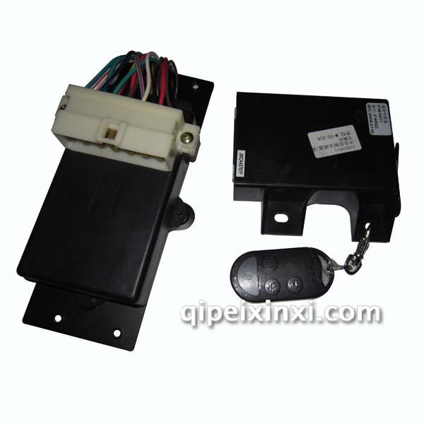 车门控制盒及中控锁