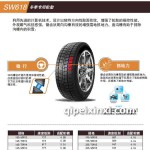 冬季朝阳轮胎批发SW618