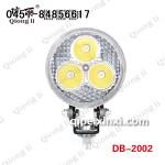 9W 货车LED工作灯泛光3寸小太阳 琼丽大功率