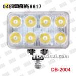 24W 货车LED工作灯 /聚光4寸方灯 德霸大功率