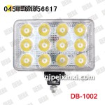 36W 货车 LED 工作灯/五寸方灯 德霸大功率