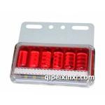 红色透镜5D光学照地灯具/汽车灯具