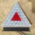 豪沃汽車三角電子燈具