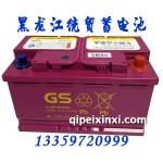 GS增強型6-QW-80(800)免維護汽車蓄電池