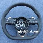 A4L新款平底方向盤