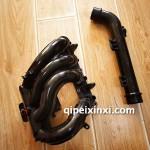 汉腾x71.5t进气支管 涡轮增压器进气硬管